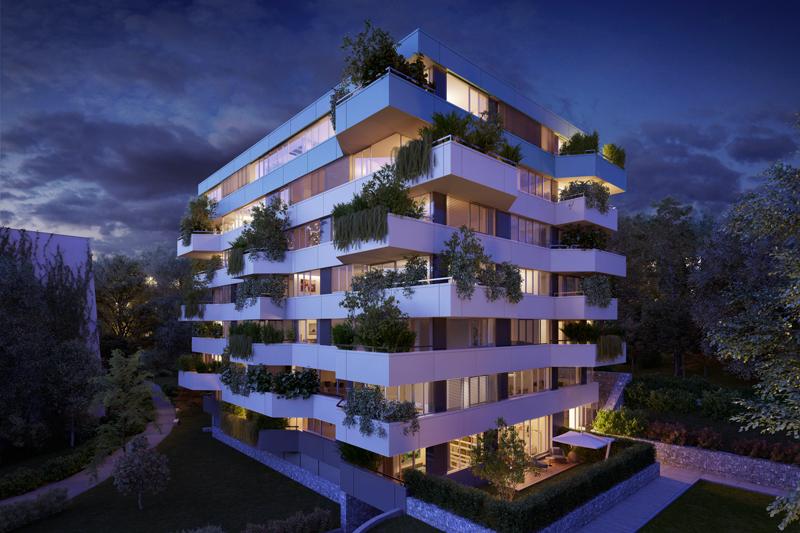 rezidenční projekt hraběnky