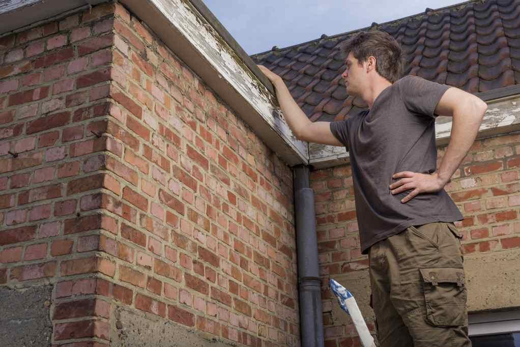 kontrola střechy